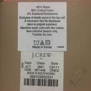 J. Crew Accessories - NWT J. Crew trouser socks